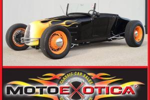 1927 FORD TRACK-T ROADSTER - CUSTOM FRAME - 10 BOLT - AIR SUSPENSION - WIRE WHLS