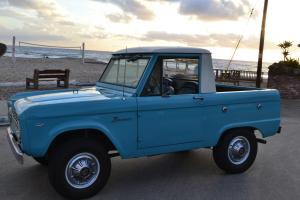 496675607b 1966 Ford Bronco Half-Cab  Beautifully Restored  NO RESERVE  Photo