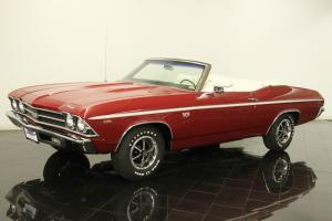 1969 Chevrolet Chevelle SS Convertible Restored 454ci 466 HP V8 4 Speed AC