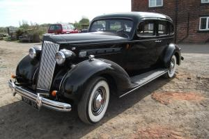 1936 PACKARD 120 SALOON, VERY ORIGINAL, IN EXCEPTIONAL CONDITION