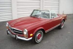 1970 Mercedes Benz 280SL W113 Pagoda Automatic with A/C DB576 Excellent Original