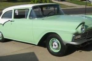 "1957 Ford Custom Tudor Sedan, Model 70A, 6CYL, 3SP, ORIGINAL 1 REPAINT ""NICE"" Photo"