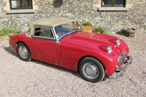 Austin Healey Frogeye Sprite, original example in good condition  Photo