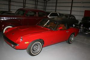 1974 JENSEN HEALEY  ROADSTER LESS THAN FIVE HUNDRED MILES SINCE REDO