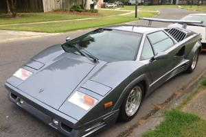 1989 Lamborghini Countach Anniversary Edition One of two in Silver