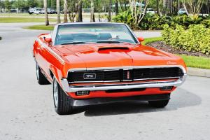 simply beautiful 1969 Mercury Cougar Convertible must see drive clean stunning.