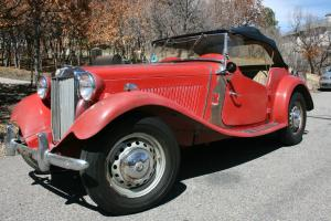 1951 MG TD in Nearly Original Condition Photo