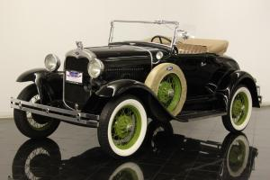 1930 Ford Model A Roadster 200.5ci 4 Cylinder 3 Speed Original Body and Chassis