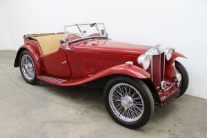 1939 MG TA Roadster - Comes with Lots of Documentation
