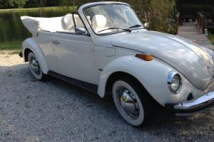 1978 Volkswagen Super Beetle Base Convertible 2-Door 1.6L