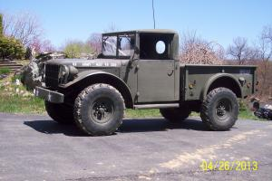 1954 m37  dodge military power wagon