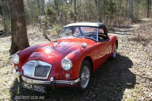 MG MGA 1956 RED
