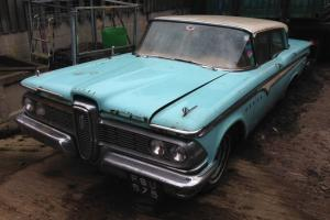 1959 Edsel Ranger barn find rat look or restoration, body VERY solid VERY RARE