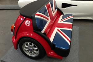 Custom Union Jack Mini Cooper Zeemax Classic Mini sofa Cool Britannia seat couch