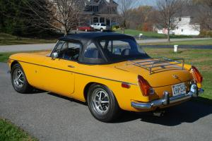 1972/73 Restored MGB Photo