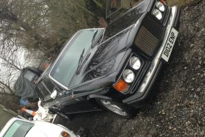 1987 BENTLEY TURBO R BLACK FULL LEATHER NEARLY FULL SERVICE HISTORY, X STARS