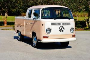 Very rare and stunning 1968 Volkswagen Vanagon Double Cab must see drive sweet