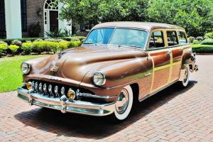 Absolutley magnificent 1951 Desoto Custom Station Wagon 1 of a kind restoration