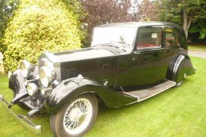 1937 Rolls Royce 25-30 Mayfair Sports Saloon