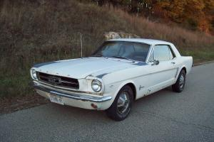 1965 Mustang coupe 289, 3 speed