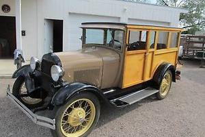 1928 Ford Model A Woody