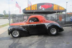 1941 WILLYS RESTOMOD FUEL INJECTED A/C FULL POWER HOT ROD SHOW BABY!
