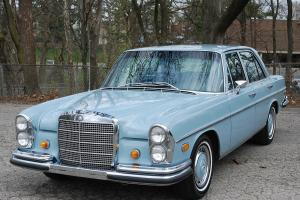 1968 Mercedes 280S one owner only 70,900 miles