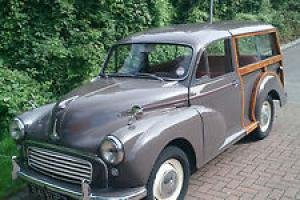 1962 MORRIS TRAVELLER ROSE TAUPE FANTASTIC CONDITION