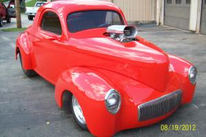 1941 Willys Blown Big Block Outlaw Body and Chassis Show and Drive Street Rod