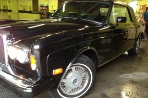 1987 BENTLEY Continental Cab, Black,MINT,32k miles! EXPORT ANY CAR WORLDWIDE Photo