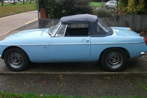 MGB V8 Roadster 1970 Iris Blue Convertible Tax Exempt  Photo