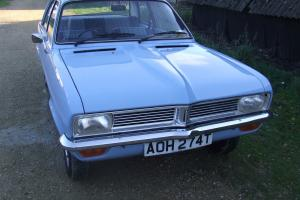 1979 VAUXHALL VIVA in Outstanding Condition, 3 owners and 33K Miles