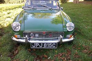MGB Roadster 1965 For Sale.  Photo