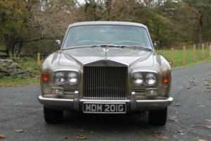 1969 Rolls-Royce Silver Shadow MPW 2door Saloon CRH6608