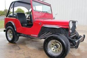 1950 willys Jeep 4x4 ready for the trails