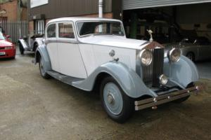 1934 Rolls-Royce 20/25 Sports Saloon by Thrupp