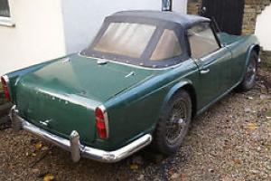 Triumph TR4 1964 with wire wheels  Photo