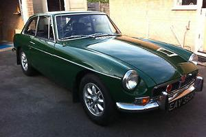MGB GT .. Tax Exempt