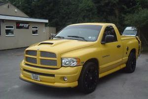 2004 dodge ram srt 1500 saturn yellow rumble bee. Black Bedroom Furniture Sets. Home Design Ideas