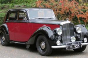 1949 Bentley MK VI Saloon B457DZ  Photo