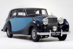 1950 Rolls-Royce Silver Wraith by James Young