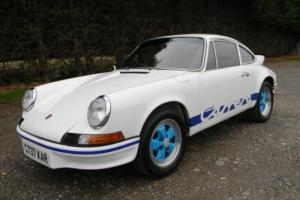 1986 Porsche 911 3.2 Carrera to 1973 RS Specification