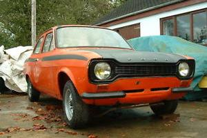 1973 Ford Escort Mexico for restoration, genuine car with Vin and AVO tags, LHD.