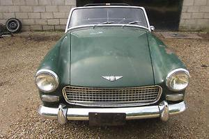 Austin Healey Sprite LHD 1967 Time Warp Running Driving Project L