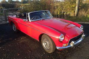 MGB Roadster 1970  Photo
