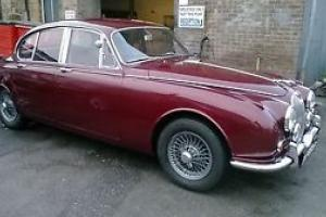 1967 JAGUAR MK2 240 , MAN O/D , OPALESCENT MET 74K , BUFF LOG BOOK , LOVELY CAR