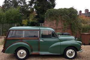 CLASSIC MORRIS MINOR 1000 TRAVELLER (ALMOND GREEN)