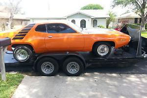 1971 Plymouth Satellite Sebring Plus Mopar V8 project Muscle Drag Hotrod Car