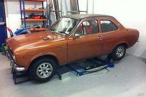 MK1 1974 FORD ESCORT 1300E GOLD, LOTUS TWINCAM MEXICO PROJECT