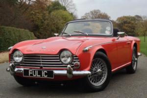 1965 Triumph TR4a Roadster - Stunning UK RHD Car. Overdrive and Wire Wheels
